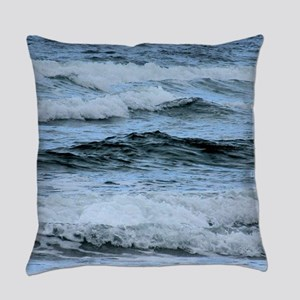 Waves Everyday Pillow