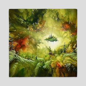 Fantasy Painting Landscape Mystical Queen Duvet