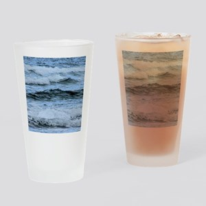 Waves Drinking Glass