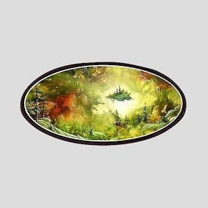 Fantasy Painting Landscape Mystical Patch
