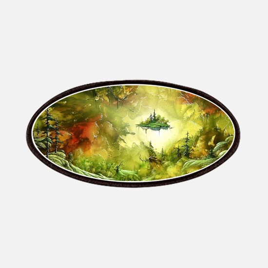 Fantasy Painting Landscape Mystical Patch