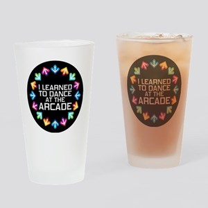 I Learned to Dance at the Arcade Drinking Glass