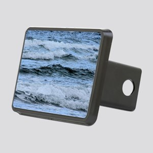 Waves Rectangular Hitch Cover