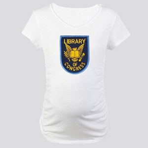Library of Congress Maternity T-Shirt