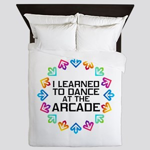 I Learned to Dance at the Arcade (Blac Queen Duvet