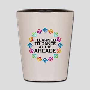 I Learned to Dance at the Arcade (Black Shot Glass