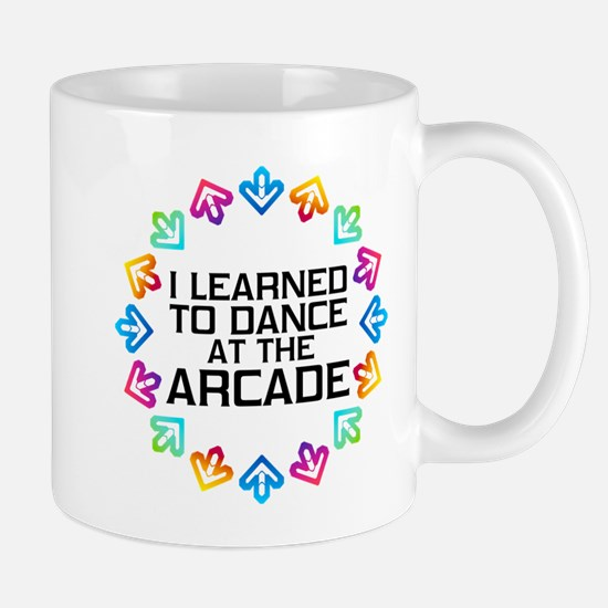 I Learned to Dance at the Arcade (Black Mug