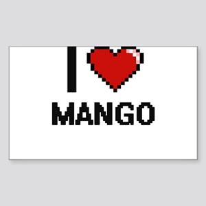 I Love Mango Sticker