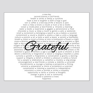 Grateful For... Posters Small Poster
