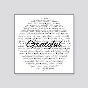 Grateful For... Sticker