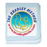 Bradley Method Mug Baby Blanket