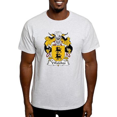 Villalobos Family Crest Light T-Shirt