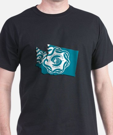 City of Seattle Flag T-Shirt