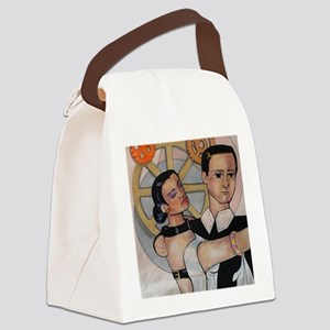 First Dance Canvas Lunch Bag