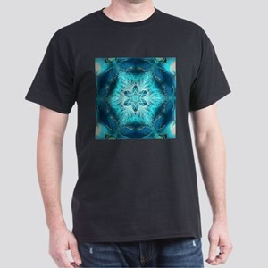 Christmas teal snowflakes turquoise T-Shirt
