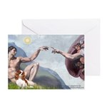 Creation / Cavalier Greeting Card