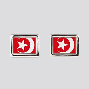 Flag Rectangular Cufflinks