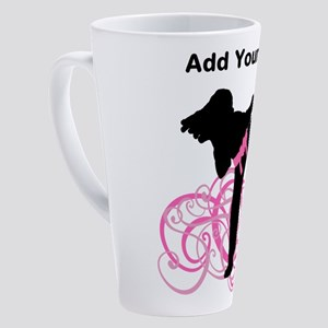 Pink Kicks 17 oz Latte Mug