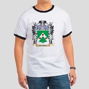 Kearns Coat of Arms - Family Cr T-Shirt