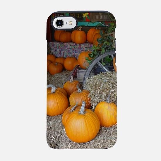 Pumpkin scene iPhone 8/7 Tough Case