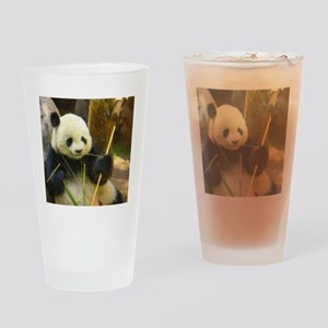 Black, White, and Cute All Over Drinking Glass