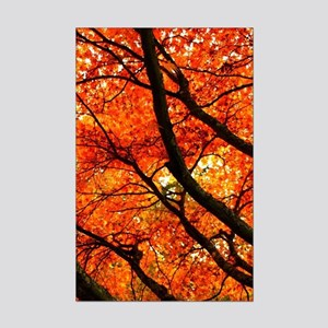 Autumn oak Mini Poster Print