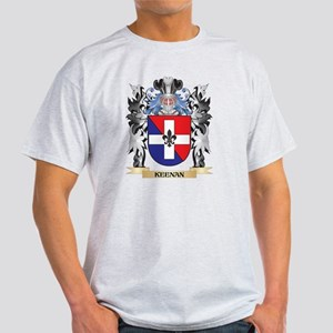 Keenan Coat of Arms - Family Cr T-Shirt