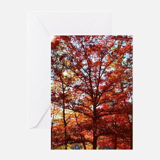 Autumn Wedding Greeting Card