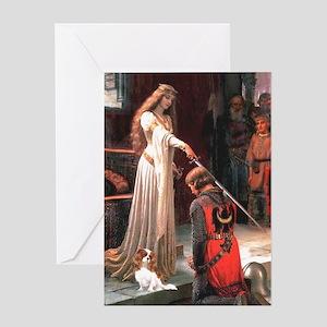 Princess & Cavalier Greeting Card
