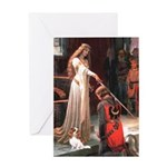 Princess & Cavalier Greeting Card