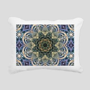 romantic floral purple m Rectangular Canvas Pillow