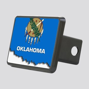 OKLAHOMA STATE FLAG Rectangular Hitch Cover