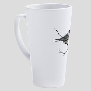 chickadee song bird 17 oz Latte Mug