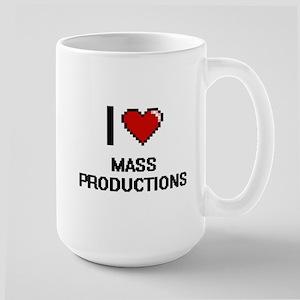 I Love Mass Productions Mugs