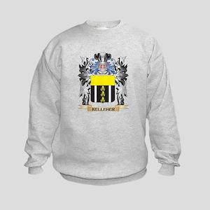 Kelleher Coat of Arms - Family Cre Kids Sweatshirt