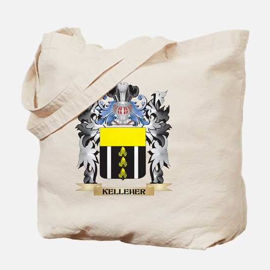 Kelleher Coat of Arms - Family Crest Tote Bag