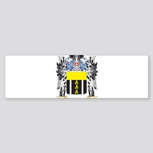 Kelleher Coat of Arms - Family Cres Bumper Sticker