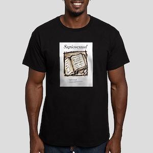 Sapiosexual Men's Fitted T-Shirt (dark)