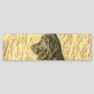 rustic country farm dog Bumper Sticker
