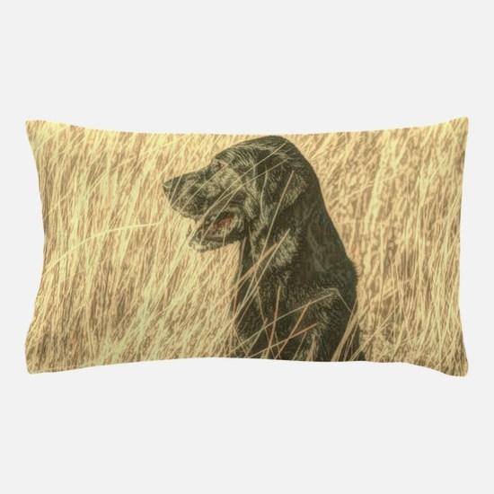 rustic country Labrador dog Pillow Case