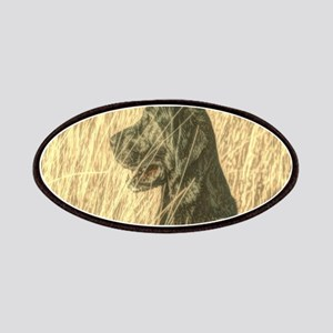 rustic country Labrador dog Patch