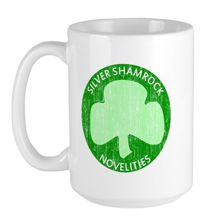 Silver Shamrock Large Mug