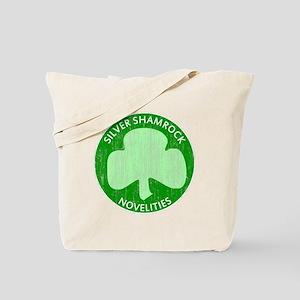 Silver Shamrock Tote Bag