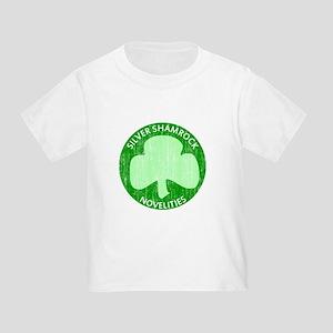 Silver Shamrock Toddler T-Shirt