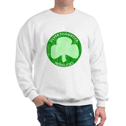 Silver Shamrock Sweatshirt