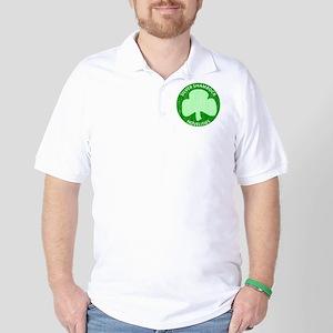 Silver Shamrock Golf Shirt