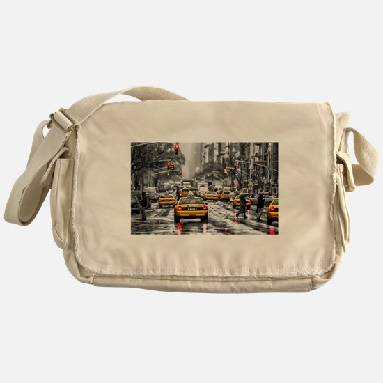 I LOVE NYC - New York Taxi Messenger Bag