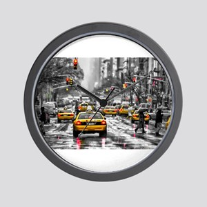 I LOVE NYC - New York Taxi Wall Clock