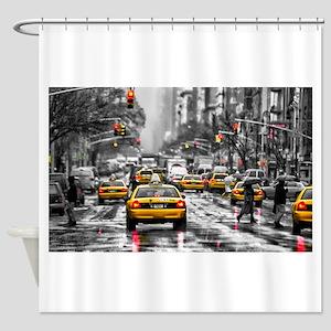 New York City Shower Curtains