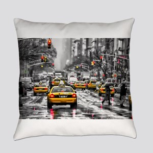 I LOVE NYC - New York Taxi Everyday Pillow